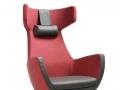 UMM leustoel fauteuil rood