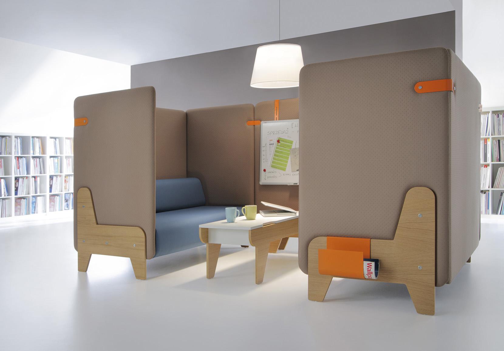 Chillout akoestische bank akoestisch meubilair - Chill out sofas ...