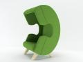 First Call phone of ear chair akoestisch afgescheiden bellen