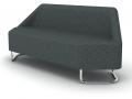 Modulaire zitbank Hexel ontvangstruimte wachtruimte