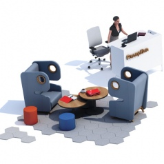 Acoustic Chair Packman