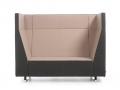 Modulaire zitbank Voo Voo 9XX wachthal phone chair, telefoonstoel, stilte- en rustplek