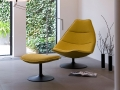 Artifort F585 lounge fauteuil