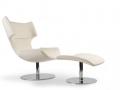 Artifort Boson fauteuil voetenbank wit