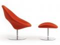 Artifort Globe fauteuil voetenbank