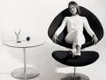 Artifort Globe lobby fauteuil