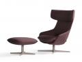 Artifort Kalm armchair fauteuil voetenbank