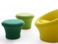 Artifort Mushroom wachtruimte fauteuil