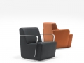 Luxueuze fauteuil Lande Olli voor wachthal, foyer, lobby