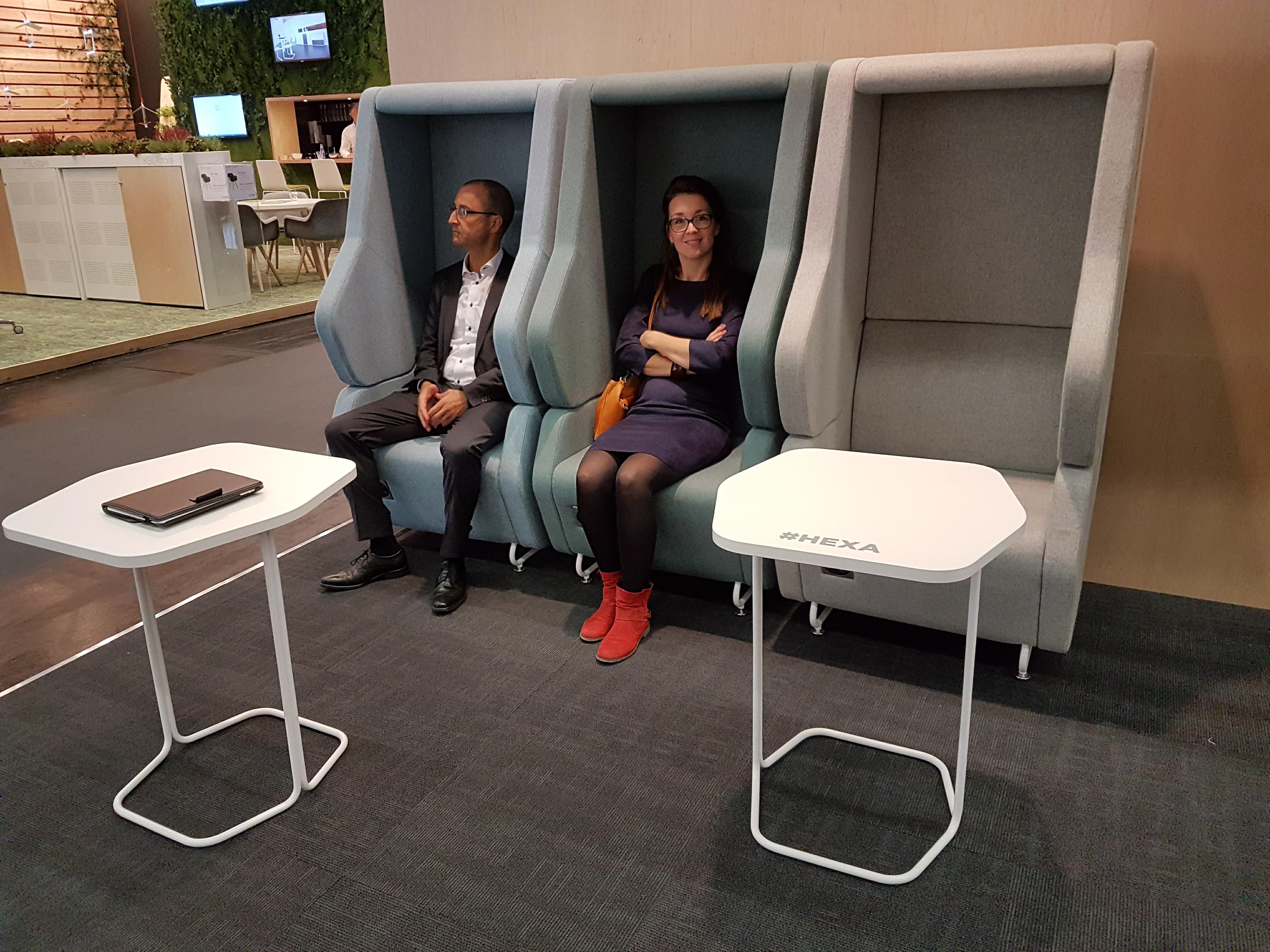 Akoestische fauteuil phone chair stil bellen met dakje