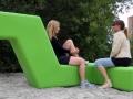 Outdoor zitmeubelen ontmoetingsplek