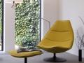 Zitelement lounge chair Artifort F584-F585-F586