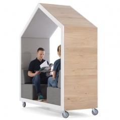 Mobiele akoestische vergaderunit Treehouse