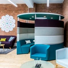 Circelvormige sofa