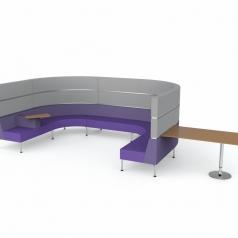 Cirkelvormig fauteuil Hive