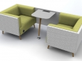 Modulaire bank Tryst