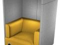 Onafgeleid werken Tryst modulaire zitbank met dakje