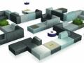 Wachtruimte meubilair modulaire zitelementen